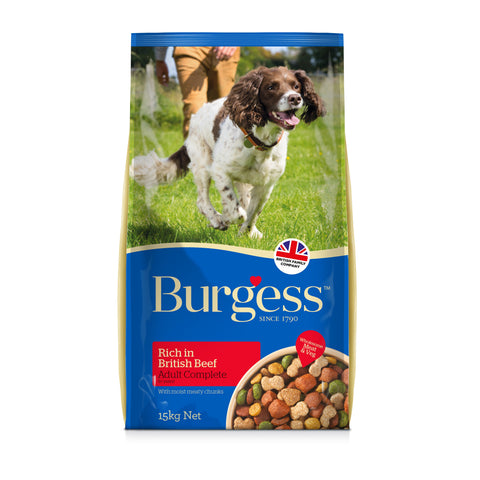 Burgess Adult Dog Rich in Beef 2.5kg