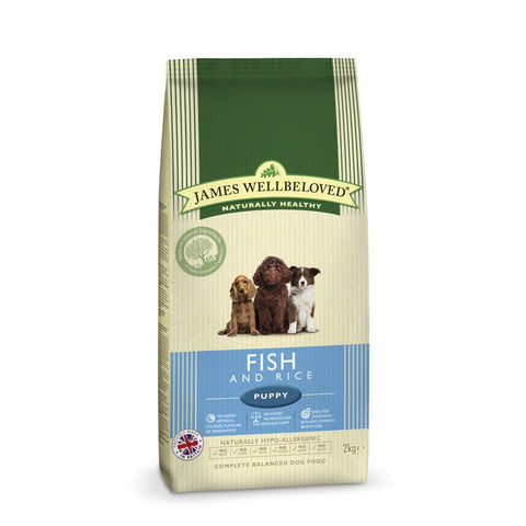 James Wellbeloved Fish & Rice Puppy Food 2kg