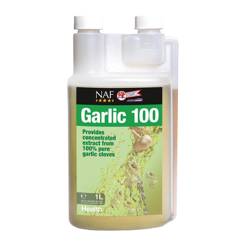 Ingredients Composition Water, Glycerine, Garlic powder. Additives (per litre) Garlic tincture 540 ml