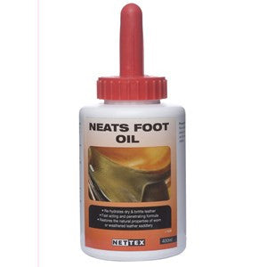 Net-Tex Neatsfoot Oil With Brush 400ml