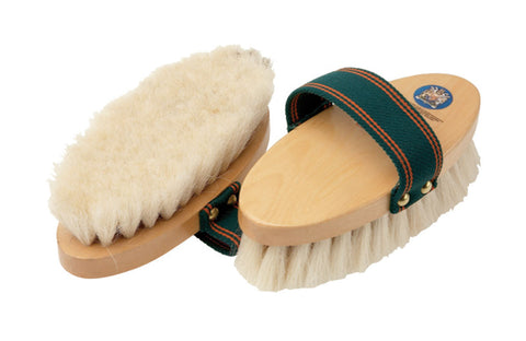 Equerry Wooden Body Brush - Goat Hair