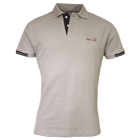 Mark Todd Frank Mens Short Sleeve Polo Shirt Grey