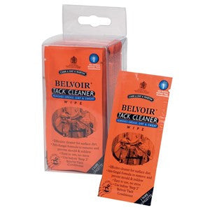 Belvoir Tack Cleaner Wipes