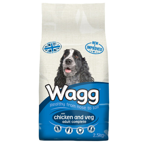 Wagg Complete with Chicken & Vegetables 2.5kg
