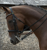 Rhinegold Italian Leather Anatomical Double Bridle horse