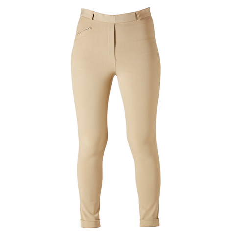 Firefoot Ladies Rawdon Comfort Breeches in Fawn