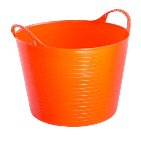14L Small Coloured Flexible Tubtrug orange