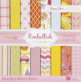 "Embellish by Dena 12"" x 12"" Paper Stack - Terryfic Shop"
