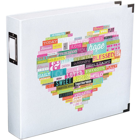 "Project Life Heidi Swapp Collection 12"" x 12"" Heart Album - Terryfic Shop"