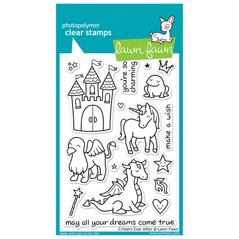 Lawn Fawn Critters Ever After Clear Stamps - Terryfic Shop