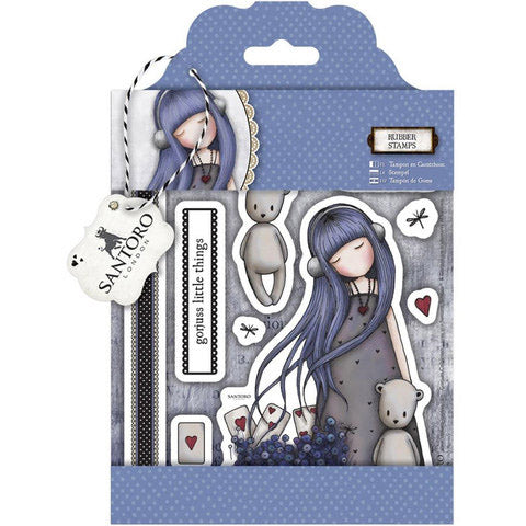 Santoro Gorjuss Rubber Cling Stamp Sets - Terryfic Shop