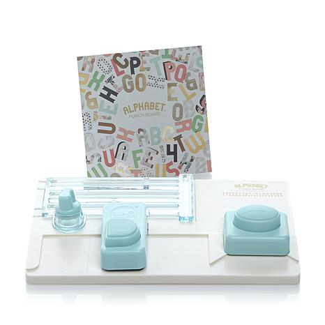 WRMK Alphabet Punch Board - Terryfic Shop