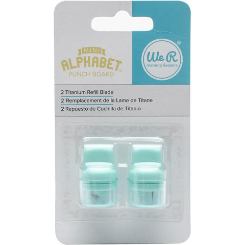 WRMK Mini Alphabet Punch Board Refill Blades - Terryfic Shop
