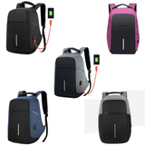 Anti Theft Waterproof Backpack & Laptop Travel Bag With USB Port
