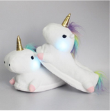 Glowing Unicorn Slippers