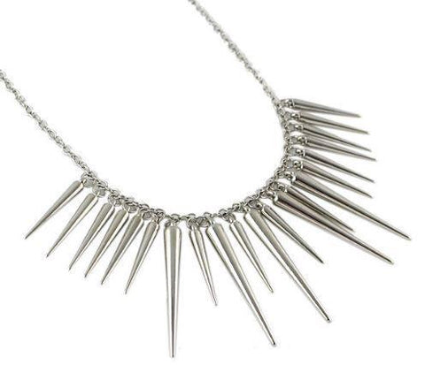 Spike Statement Necklace