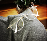 Kawaii Circle Glasses - Eyewear - Rebel Style Shop