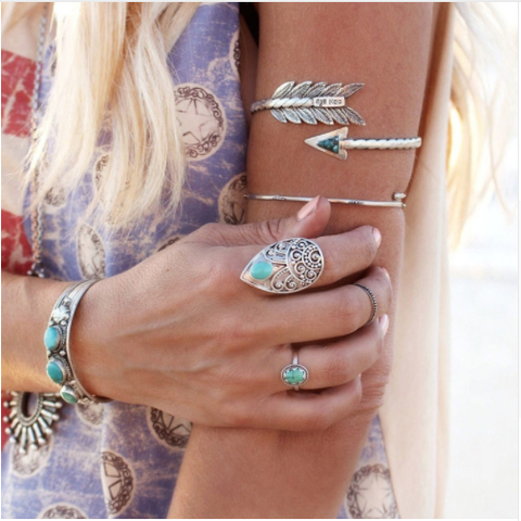 Arrow Boho Arm Bracelet - Bracelet - Rebel Style Shop