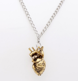 Anatomical Heart Necklace - necklace - Rebel Style Shop