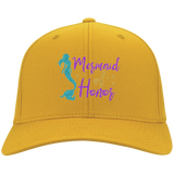 Mermaid Of Honor Twill Cap - Hats - Rebel Style Shop