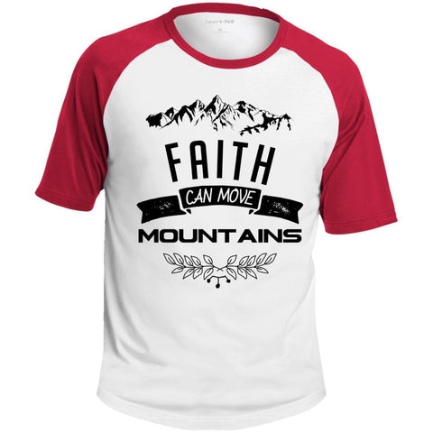 Faith Can Move Mountains Men's Shirts - Apparel - Rebel Style Shop