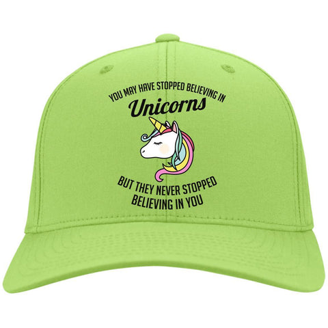 "Unicorn Caps - ""You May Have Stopped Believing In Unicorns"""