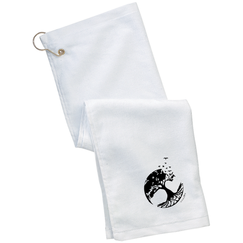 Tree of Life Golf Towel - Towels - Rebel Style Shop