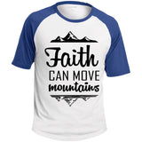 "Christian Clothing - ""Faith Can Move Mountains"" Men's Shirts - Apparel - Rebel Style Shop"