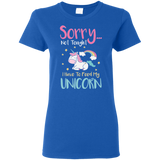 Sorry... Not Tonight Ladies' 5.3 oz. T-Shirt - T-Shirts - Rebel Style Shop