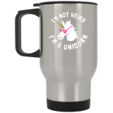 "Funny Mugs - ""I'm Not Weird, I'm A Unicorn"""