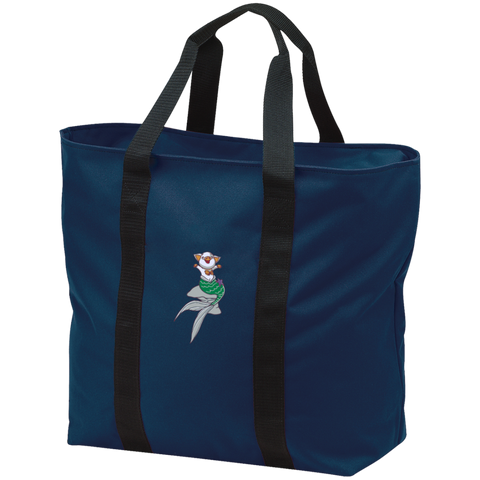 Mermaid Pig All Purpose Tote Bag