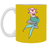Mermaid Pig Mug - Drinkware - Rebel Style Shop