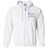 Mermaid Of Honor Zip Up Hooded Sweatshirt