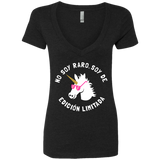 No Soy Raro, Soy De Edicion Limitada Ladies' Deep V-Neck T-Shirt