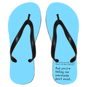 "Custom Flip Flop - ""88% Of The World's Oceans Haven't Yet Been Explored"""