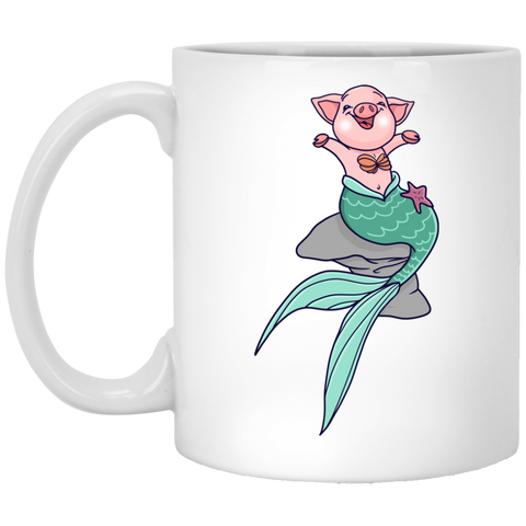 Mermaid Pig Mug