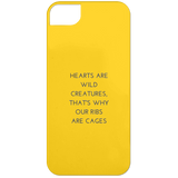 Hearts are Wild Creatures iPhone 5 Case - Phone Cases - Rebel Style Shop
