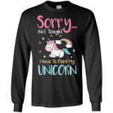 Sorry... Not Tonight LS Ultra Cotton T-Shirt