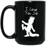 I Love You So Mugs - Apparel - Rebel Style Shop