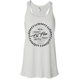 Cast All Your Anxiety On Him Flowy Racerback Tank