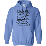 Remember When I Asked For Your Opinion? Pullover Hoodie 8 oz. - Sweatshirts - Rebel Style Shop