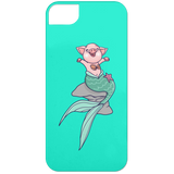 Mermaid Pig iPhone 5 Case - Phone Cases - Rebel Style Shop