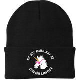 No Soy Raro, Soy De Edicion Limitada Knit Cap - Hats - Rebel Style Shop