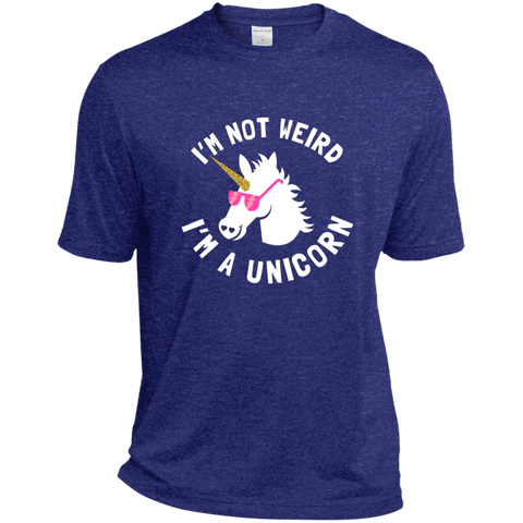 I'm Not Weird, I'm a Unicorn  Heather Dri-Fit Moisture-Wicking T-Shirt