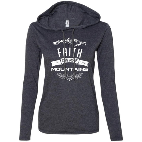 Faith Can Move Mountains Ladies Sweater
