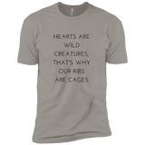Hearts Are Wild Creatures Short Sleeve T-Shirt