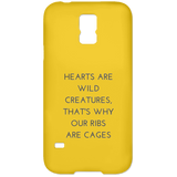 Hearts are Wild Creatures Samsung Galaxy S5 Case - Phone Cases - Rebel Style Shop