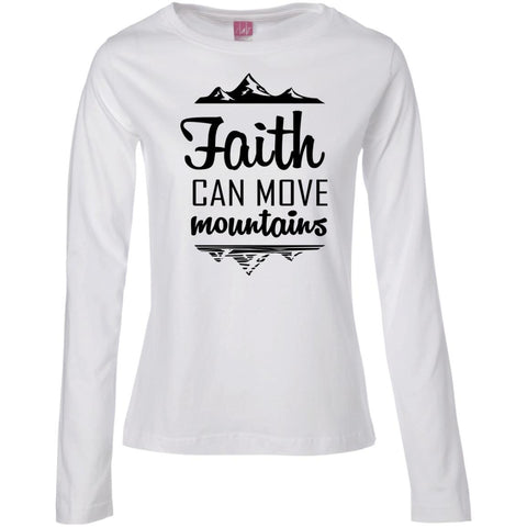 Faith Can Move Mountains Sweatshirts - Apparel - Rebel Style Shop