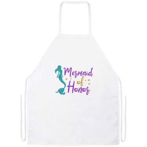 Mermaid Of Honor Apron - Work Apparel - Rebel Style Shop