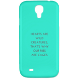 Hearts are Wild Creatures Samsung Galaxy 4 Case - Phone Cases - Rebel Style Shop